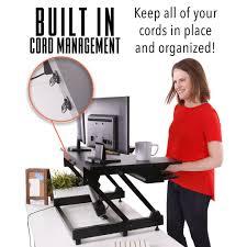 stand steady standing desks converters sit stand desk u0026 accessories