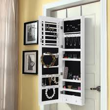 Cabinets With Locking Doors by Amazon Com Lifewit Lockable Full Length Mirrored Jewelry Cabinet