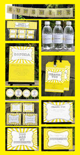 sunshine invitation 11 best party yellow images on pinterest birthday party
