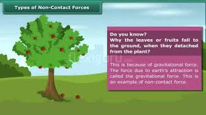 Ks3 Forces Worksheet Type Of Non Contact Forces Youtube