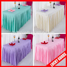 fancy wedding pleated table cloth for sale buy wedding pleated