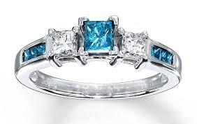beautiful blue rings images 70 sparkling princess cut diamond rings for you style behind the jpg