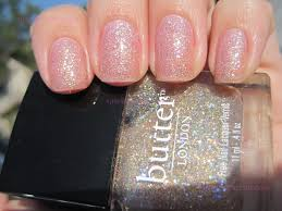 sparkly vernis butter london tart with a heart a different kind