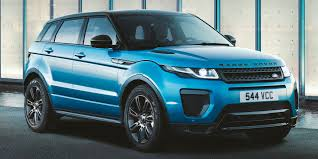 2018 Land Rover Range Rover Evoque Vehicles On Display