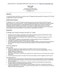 example of it resume example it security careerperfectcom