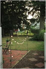 backyard lights solar home outdoor decoration
