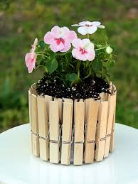 Cute Flower Pots by Mini Picket Fence Flower Pots Big Bear U0027s Wife