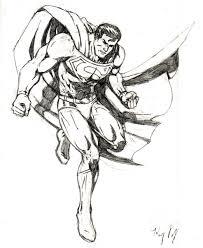 superman drawing u2013 kenny velez