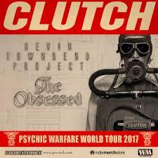 clutch announce u0027holiday run u0027 w devin townsend project u0026 the