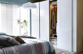 brilliant bedroom in home decor shows pleasant walk in closet ikea