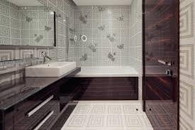 Designer Wallpaper F Elegant Bathroom Wallpaper Ideas Interior - Designer wallpaper for bathrooms