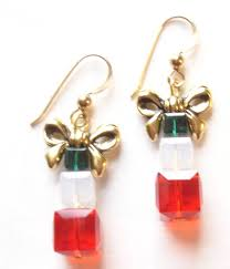 christmas earrings christmas earrings