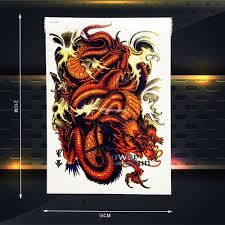 online get cheap dragon sleeve tattoo designs aliexpress com