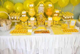 yellow baby shower ideas plain decoration yellow baby shower decorations peachy themed