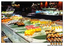 Minado Sushi Buffet by Japanese Buffet Cookie Crumbs Food Kuishin Bo Authentic
