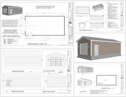 g533 18 x 35 x 10 garage sds plans