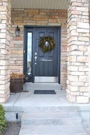 Front Door Painted by 45 Best Front Doors Images On Pinterest Front Door Colors