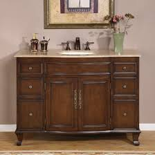 Narrow Vanity Table Furniture Excellent Vanity Cabinets With Sink Design Bathroom