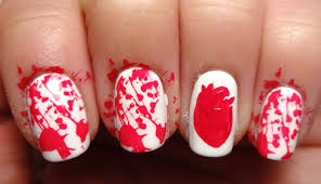 lacquered lawyer nail art blog a zombie stole my heart