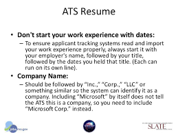 Ats Friendly Resume Example by Dwd Online Application Workshop