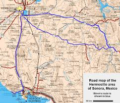 Mexico Road Map by Steve