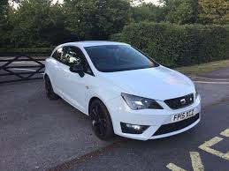 2015 seat ibiza fr tsi 1 4 white black edition cat d 20 000 miles