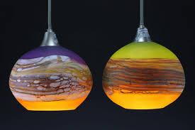 Glass Pendant Lighting Charming Art Glass Pendant Lighting Fixtures 23 For Your Home