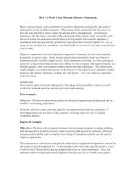 sample objective statements for resumes cover letter sample resume objective statements for customer cover letter customer service sample resumes resume for cashier and customer example of get ideas how
