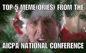 Top Internet Memes - top 5 meme ories from the aicpa national conference gaap dynamics