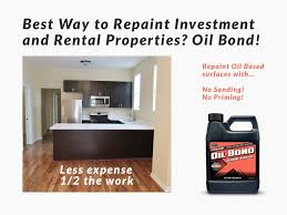 investment property paint made easy with oil bond product review