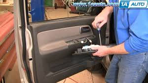 how to install replace master power window switch chevy colorado