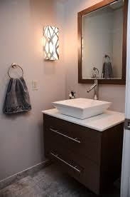 powder room sinks and vanities chic vessel sink vanity contemporary powder room powder room