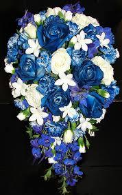 blue carnations flowerandballooncompany archive cascading blue