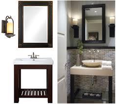 framing an existing bathroom mirror