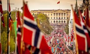 Flags Of The Wor 17 Mai In Oslo