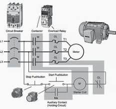 single phase motor contactor wiring electrical mechanics pics b