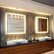 Illuminated Bathroom Mirror - illuminated mirrors lighting mirrors bathroom illuminated mirror