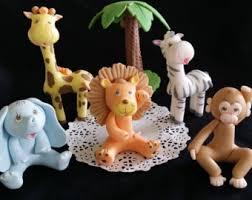 elephant baby shower decoration baby elephant cake topper jungle