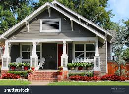 house with a porch onefamily house porch stock photo 220413271