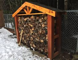 build a backyard firewood holder canadian woodworking magazine