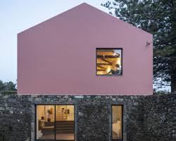 filipe saraiva arquitectos designs pentagonal house shaped