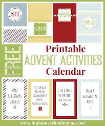 free printable advent calendar template december sitezen co