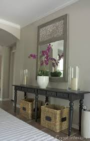 Entry Table Decor by Entryway Storage Solutions Paint Colors Entryway Ideas And Pottery