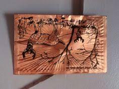 kopper kard postcards kopper kard copper postcard chicago il vintage windy city wrap
