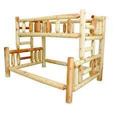 Pine Bunk Bed Knotty Pine Collection Bunk Bed Amish Crafted Furniture