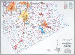 Texas Highway Map Maps Research Tools For Ellis County Texas