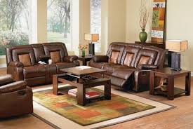 Two Tone Reclining Sofa Recliner
