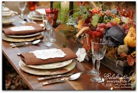 thanksgiving entertaining home design