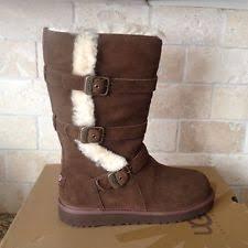womens ugg maddi boots ugg australia youth maddi chocolate 1001520k 5 ebay