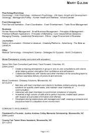 Resume Community Service Example Resume Sample For Human Services Susan Ireland Resumes